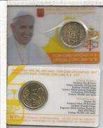 VATICANO COIN CARD 2017 MONEDA EURO 50 CTS - Vatican