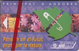 AND34 ADN PROTECTION DE LA NATURE 100 GEM 08/95 NSB-ANDORRE
