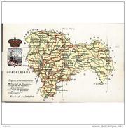 GDLJRTP6701CPA-LFTM122TMAP.Tarjeta Postal DE GUADALAJARA.Mapa Atlas Fotografico De  Guadalajara(España) - Mapas