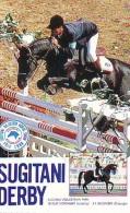 Télécarte Japon * Animal * CHEVAL DE COURSE (159) H0RSE RACING * DERBY * HORSE Japan Phonecard * PFERD * PAARD - Horses