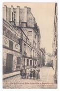 Vieux Paris. Rue De La Lune Et Eglise Notre Dame De Bonne Nouvelle.(1418) - France