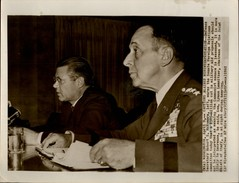 PHOTO - Photo De Presse - POLITIQUE - Hommes Politiques Américains - McNamara - WASHINGTON -  1962 - Guerre, Militaire
