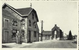 Méan -- L´ Ecole Communale Et Les Monuments 1914-18 -- 1940-45.     (2 Scans)