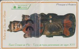 AND74 STATUE SAINT CLEMENT DE PAL 50 SC7 05/97 NSB-ANDORRE