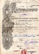 1931 CONGEDO MILITARE - FAGNANO OLONA VARESE - Documenti