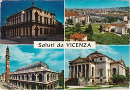 Cartolina - Postcard  - Saluti Da Vicenza - Vicenza