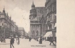 Autriche - Wien - Stephansplatz - Postmarked 1906 - Stephansplatz