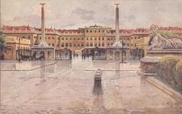 Autriche - Wien - Schloss Schönbrunn - Illustrateur Artist - Château De Schönbrunn
