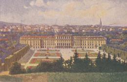 Autriche - Wien -  Kaiserl. Lustschloss Schönbrunn - Illustrateur Artist - Château De Schönbrunn