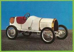 BUGATTI Type 13 1910 Voiture De Course Biplace 4 Cyl.  1327 Cm3 - Grand Prix / F1