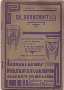 Toneel Komedie Humor - De Doodenrit - J. Everwijn - Fonds Pieter Langendijk Haarlem Brussel - Gerard Nielens - Theatre