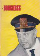 """RIVISTA """"IL BORGHESE"""" - PERIODICO POLITICO E CULTURALE - N° 3 - 16 GENNAIO 1964 - Libri, Riviste, Fumetti"""