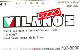 Télécarte Japon * Giappone *  L'Italia Relativi (595)   * Japan PHONECARD - Paisajes