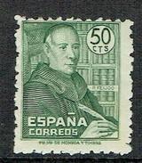 SPAIN Cardinal Benito J. Feijòo Mint Stamp - 1931-Hoy: 2ª República - ... Juan Carlos I