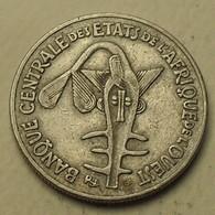1975 - Afrique De L'Ouest - West African States - 50 FRANCS, BCEAO, F.A,O., KM 6 - Monnaies