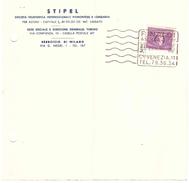 £20 RECAPITO AUTORIZZATO AGENZIA RINALDI MILANO STIPEL - 6. 1946-.. Repubblica