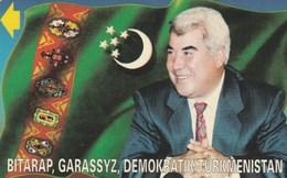 Turkmenistan - President Of Turkmenistan (Alcatel)