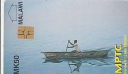 Malawi - Canoe On Lake Malawi (old Logo)