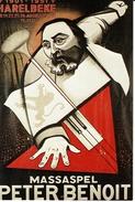 HARELBEKE-MASSASPEL PETER BENOIT -reproduction De L'affiche D'Octave LANDUYT - Harelbeke