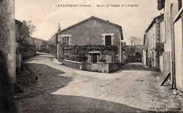 Lavausseau: Route De Vasles Et Lusignan; - Autres Communes