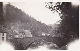 LE PONT-DE-MONTVERT (48) - Le Pont Sur Le Tarn (petite Photographie Format 10,5x6,5cm) - Places