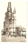 NIVELLES   ----   Eglise Ste-Gertrude. La Grand'Place - Nevele