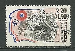 FRANCE Oblitéré 2564 Révolution Siéyès - Gebraucht