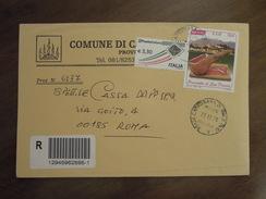 Comuni D' Italia  -  COMUNE DI CARBONARA DI NOLA  -  Busta Raccomandata Del 22 . 12. 09 - 6. 1946-.. Repubblica