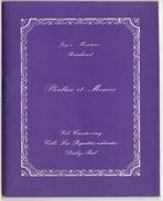 Phallus Et Momies / Joyce Mansour - Reinhoud  Volume 35 - Daily-Bul - 1969 - Auteurs Français