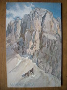 (Alpes, Dolomites) Edouard Théodore COMPTON: Marmolata, Vers 1910, état SUP. - Compton, E.T.