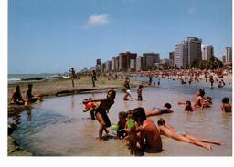 Recife - Vista Parcial Dos Arrecifes E Praia De Boa Viagem - Recife
