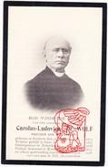 DP Foto EH Pastoor Priester Carolus L. DE WOLF Etikhove Maarkedal Gent Nukerke Kieldrecht Beveren - Druk Leupegem - Images Religieuses