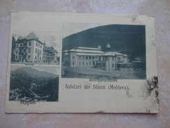 CPA MOLDAVIE MOLDAVA Salutari Din SLANIC Multi Vues -1899 - Moldavia