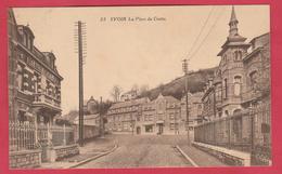 Yvoir - La Place Du Centre - 1922  ( Voir Verso ) - Yvoir