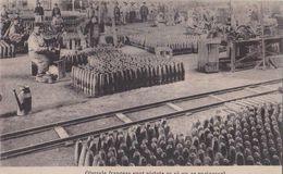 Les Obus Français Sont Peints Contre La Rouille, Carte Roumaine.1914-1918. - War 1914-18
