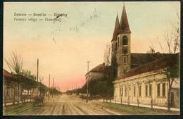 Zemun, Semlin, Zimeny, Ferencz Vögly, Franzthal, K.u.k. Militär-Zensur, Zensur-Kommission, Ujvidek, Um 1915 - Serbien