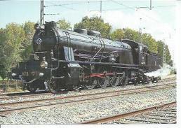 109 - LOCOMOTORA VAPOR MZA-1701 - ESTACION DE TOLEDO 25-9-86 ( TRAIN ) - Spain