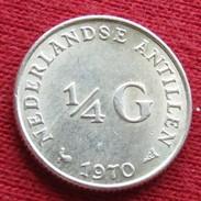 Antilles Netherlands 1/4 Gulden 1970 /a/ - Antillen (Niederländische)