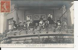 Paris Courses à Lonchamp Tribune     Avec Le Roi Et La Reine - Francia