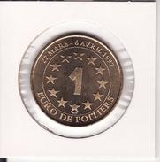 Médaille 1 Euro De POITIERS 1997 -- FUTUROSCOPE - Euros Des Villes