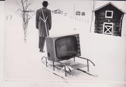 LAPLAND SWEDEN  1962 PRESS Fotos - Persone Anonimi