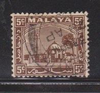 SELANGOR Scott # 48 Used - Early Issue - Selangor