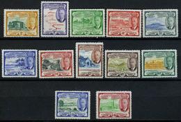 1952 - ST. CHRISTOPHER, NEVIS & ANGUILLA  - Mi. Nr. 100/111  - LH - (CW2427.37) - St.Kitts E Nevis ( 1983-...)