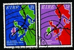 IRELAND/EIRE - 1973  I.M.O./W.M.O.  CENTENARY  SET  FINE USED - Usati