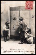 Enfants - Groupe D'endants - Tiens Toto Qui En Veut Aussi - Photographe Arjalew - Enfants