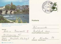 """BPK Bund P 120 D """"Wetzlar"""" Gelaufen Ab """"HENSTEDT-ULZBURG""""  (ak0365) - Brücken"""