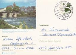 """BPK Bund P 120 D """"Wetzlar"""" Gelaufen Ab """"CREGLINGEN 1 / Riemenschneideralter""""  (ak0366) - Brücken"""