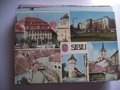 Roemenië Romania Rumenien Sibiu Several Views - Roemenië