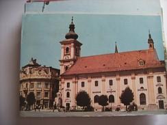 Roemenië Romania Rumenien Sibiu Catholic Church And Environment - Roemenië