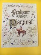 3988 - Fendant D'Ardon Parzival Valais Suisse - Etiquettes